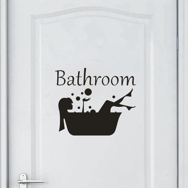 Removable Bathroom Wall Sticker