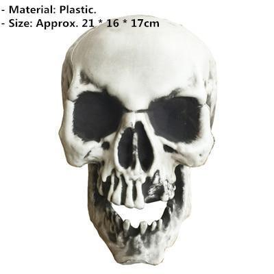 Raven Skeleton (100% Plastic)-Non Electric Home Decor-9-Khadiza Electricals