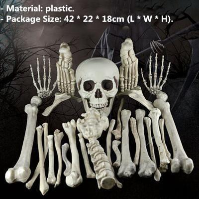 Raven Skeleton (100% Plastic)-Non Electric Home Decor-10-Khadiza Electricals