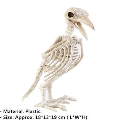Raven Skeleton (100% Plastic)-Non Electric Home Decor-1-Khadiza Electricals