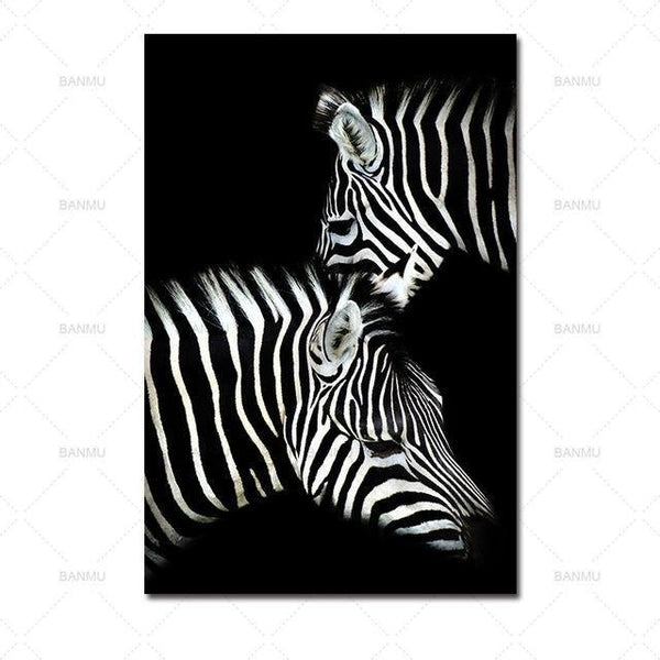 Animal canvas painting  for Home Wall decor-Non Electric Home Decor-WP0244 / 30X40cmX1PC no frame-Khadiza Electricals