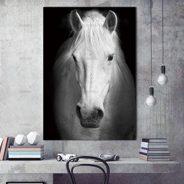 Animal canvas painting  for Home Wall decor-Non Electric Home Decor-WP0242 / 20X30cmX1PC no frame-Khadiza Electricals