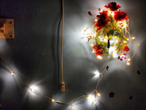 Hand made LED Chain (set Of 100 pcs)-[product_type]-50 Bulbs / Warm White / Rest Of The World-Khadiza Electricals