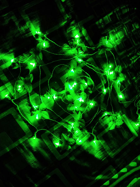 Hand made 8mm LED Chain (set Of 100 pcs)-[product_type]-India / Green-Khadiza Electricals