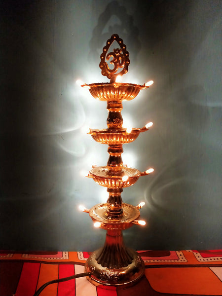 Electric Stand Diya (Set of 100 Pcs)-[product_type]-India / 4-Khadiza Electricals