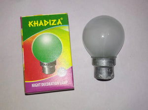 Khadiza Incandescent Round Frosted 40w Bulb (Box of 20 pcs) B22 / India