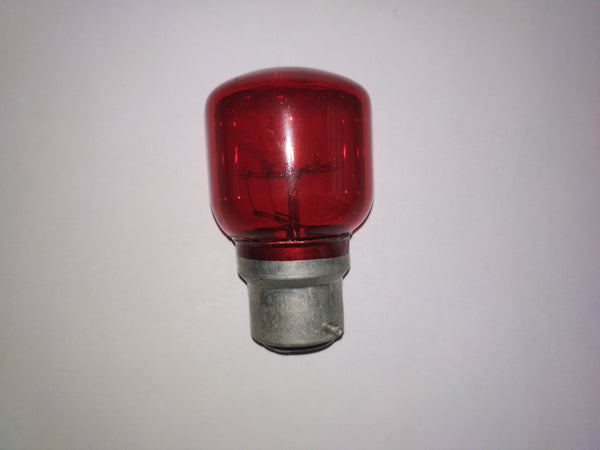 Khadiza Incandescent Fat Pigmy Color Bulb (Box of 20 pcs)-[product_type]-B22 / India / Red-Khadiza Electricals
