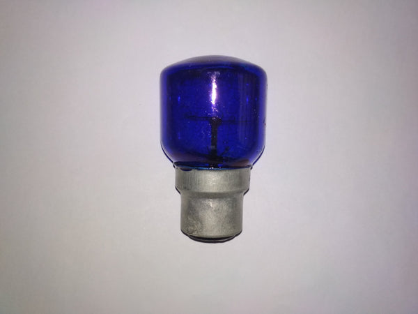 Khadiza Incandescent Fat Pigmy Color Bulb (Box of 20 pcs)-[product_type]-B22 / India / Blue-Khadiza Electricals