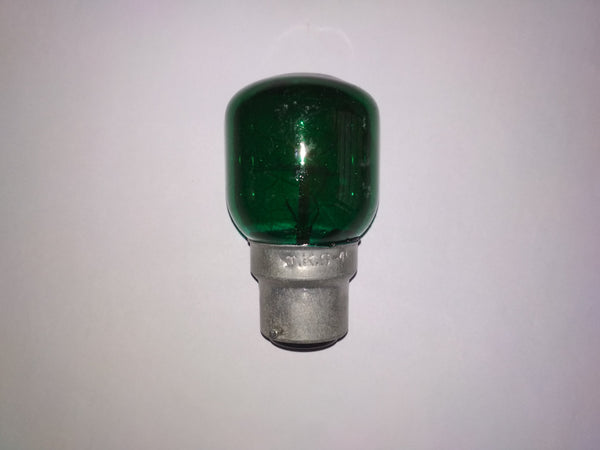 Khadiza Incandescent Fat Pigmy Color Bulb (Box of 20 pcs)-[product_type]-B22 / India / Green-Khadiza Electricals