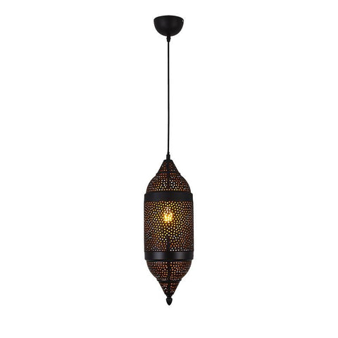 Moroccan Vintage Hollow Carved Pendant Lamp