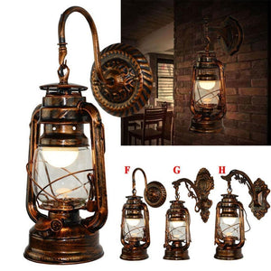 Vintage Antique style Sconces Lamp-Decorative Wall Lamp-[variant_title]-Khadiza Electricals