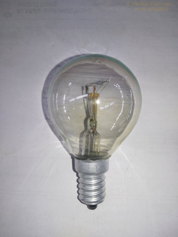 Khadiza Incandescent Round Clear 40w Bulb (Box of 20 pcs) E14 / India