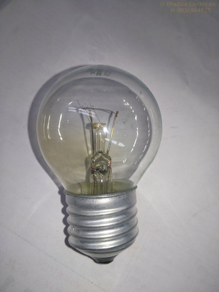 Khadiza Incandescent Round Clear 40w Bulb (Box of 20 pcs)-[product_type]-E27 / India-Khadiza Electricals
