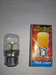 Khadiza Incandescent Pigmy Clear Bulb (Box of 24 pcs)-[product_type]-B22 / India-Khadiza Electricals