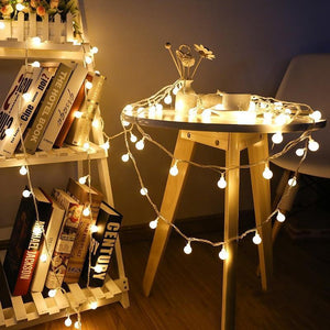 Fairy Globe Ball String Lights-Decorative String Light-[variant_title]-Khadiza Electricals