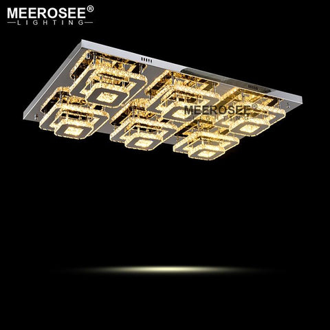 Crystal Square LED Chandeliers