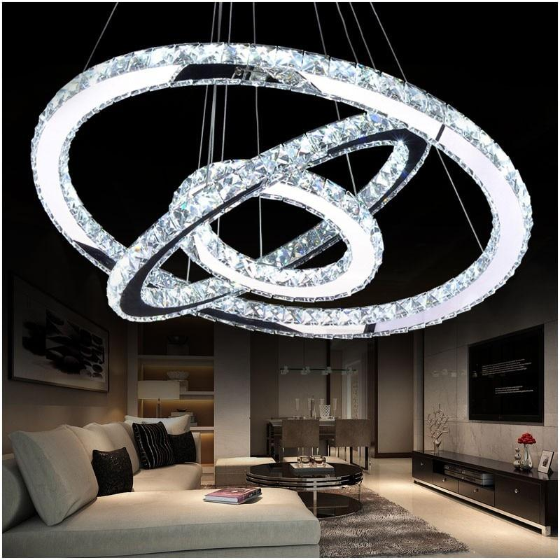 Crystal Circle Chandelier