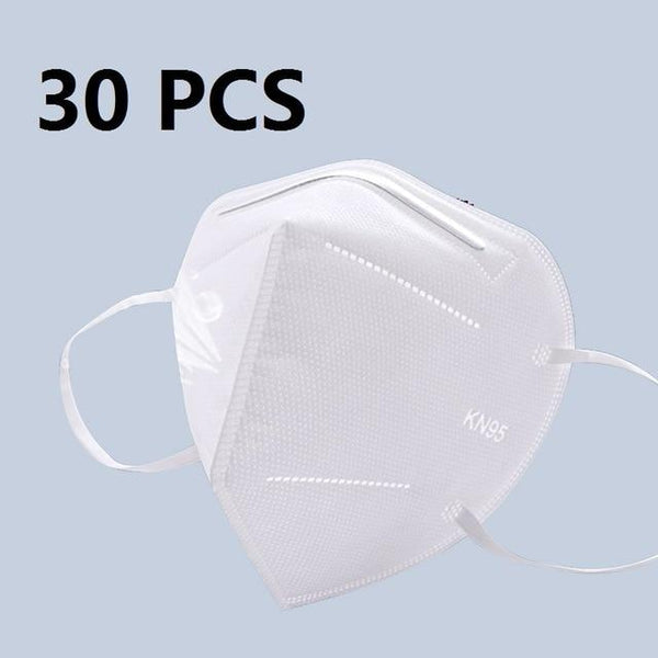 5 Layers KN95 Protective Mask with 95% Filtration by PM 2.5 filter Spain / 30 pcs