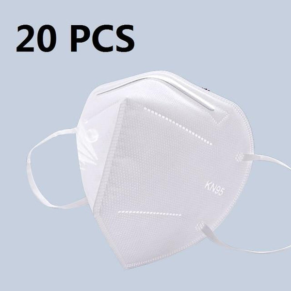 5 Layers KN95 Protective Mask with 95% Filtration by PM 2.5 filter Italy / 20 pcs