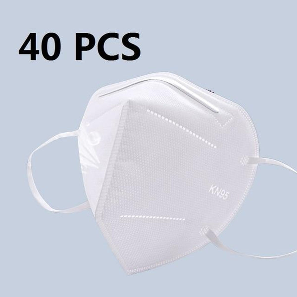5 Layers KN95 Protective Mask with 95% Filtration by PM 2.5 filter China / 40 pcs