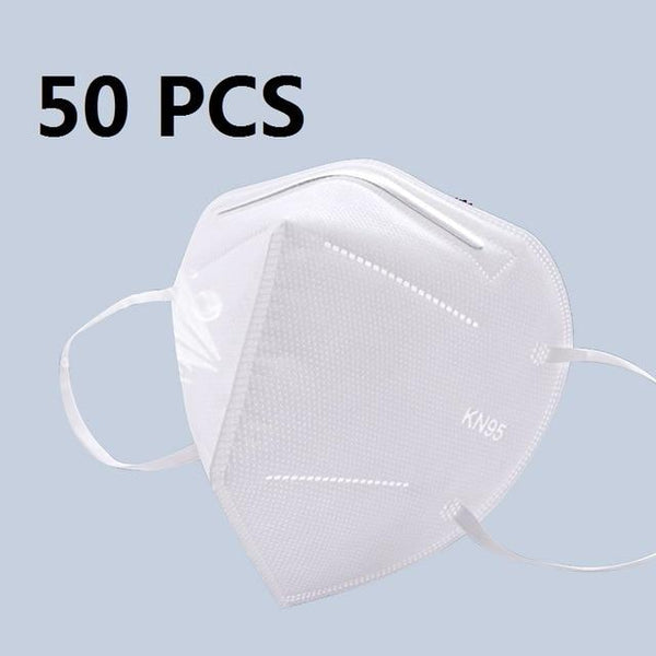 5 Layers KN95 Protective Mask with 95% Filtration by PM 2.5 filter Spain / 50 pcs