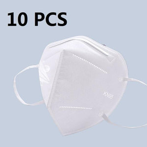 5 Layers KN95 Protective Mask with 95% Filtration by PM 2.5 filter China / 10 pcs
