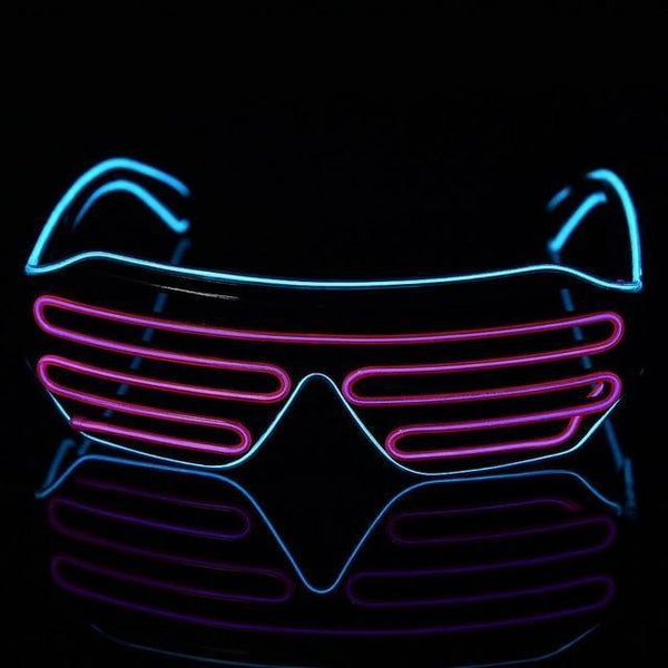 Trending Neon LED Glasses-DJ Lights & Sound-led glasses A / China-Khadiza Electricals