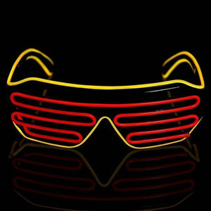 Trending Neon LED Glasses-DJ Lights & Sound-led glasses C / China-Khadiza Electricals