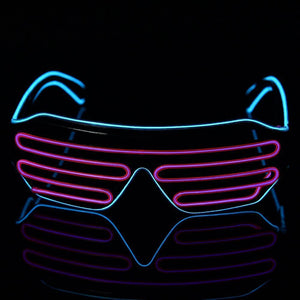 Trending Neon LED Glasses