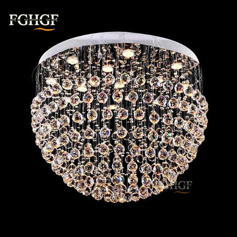 Luxurious Crystal LED Chandeliers