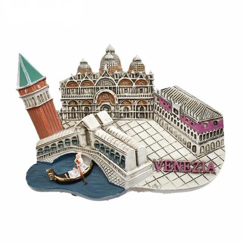 Venice Souvenir Refrigerator Magnetic Sticker-Non Electric Home Decor-[variant_title]-Khadiza Electricals