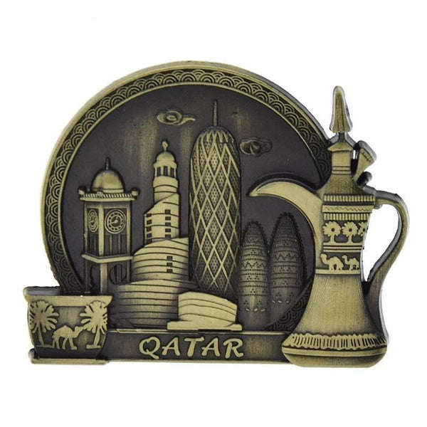 Qatar Souvenir Fridge Magnet-Non Electric Home Decor-[variant_title]-Khadiza Electricals