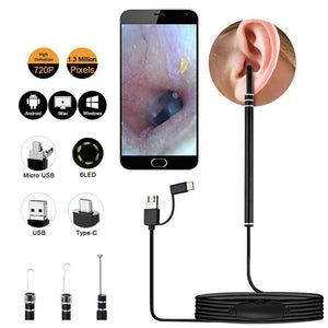 Medical In Ear Self Cleaning Endoscope Kit