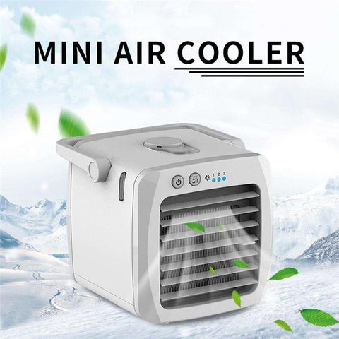 Mini Air Cooler Fan Portable Water Cooling Fan With Top Handle