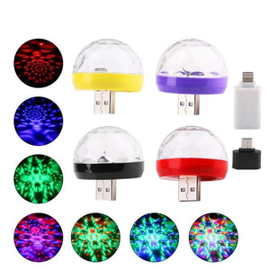 Mini USB Disco Light LED Party Lights-DJ Lights & Sound-[variant_title]-Khadiza Electricals