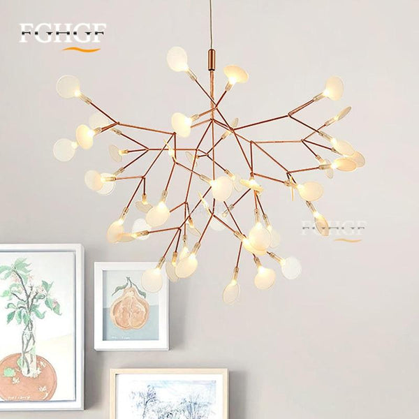 Tree Leaf Chandelier