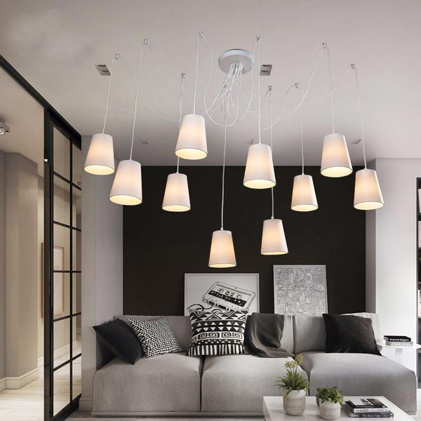 Modern large spider chandeliers-Decorative Chandelier-[variant_title]-Khadiza Electricals