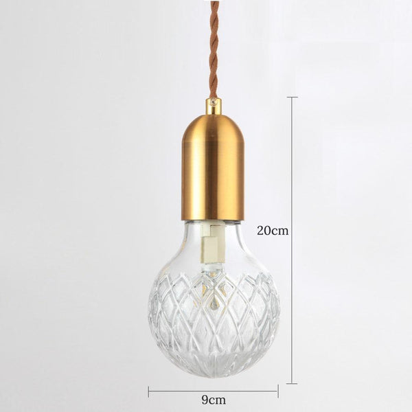 Crystal Glass G9 Pendant Light (AC220V)