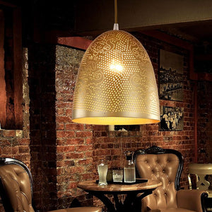 Moroccan Metal Hanging Light
