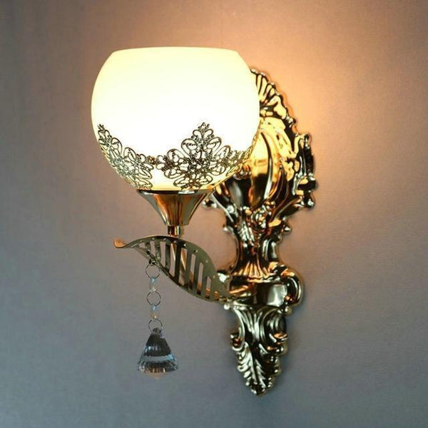 Buy European Design Modern Golden Led Wall Lamp Online-Decorative Wall Lamp-A4-Khadiza Electricals
