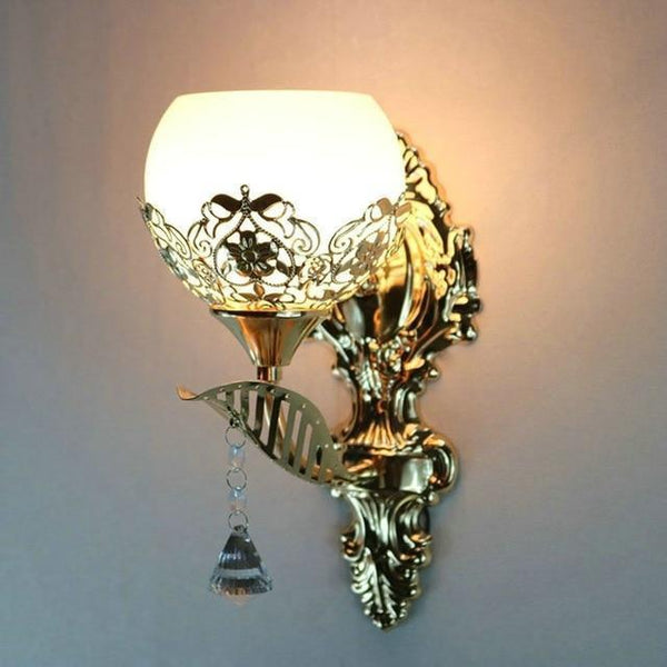 Buy European Design Modern Golden Led Wall Lamp Online-Decorative Wall Lamp-A3-Khadiza Electricals