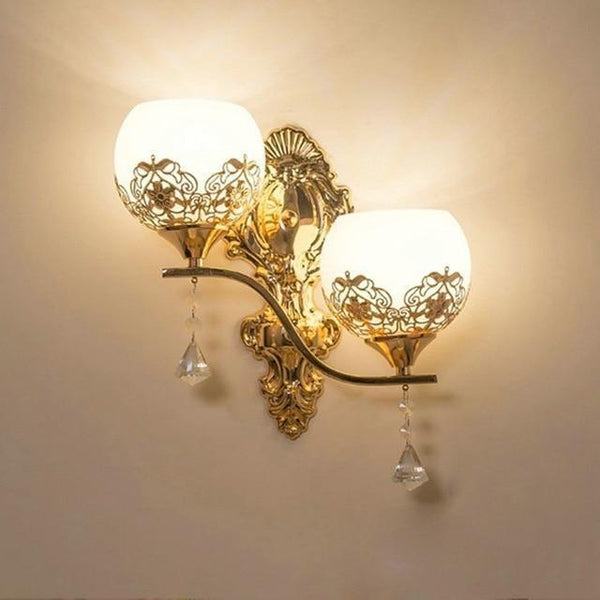 Buy European Design Modern Golden Led Wall Lamp Online-Decorative Wall Lamp-B3-Khadiza Electricals