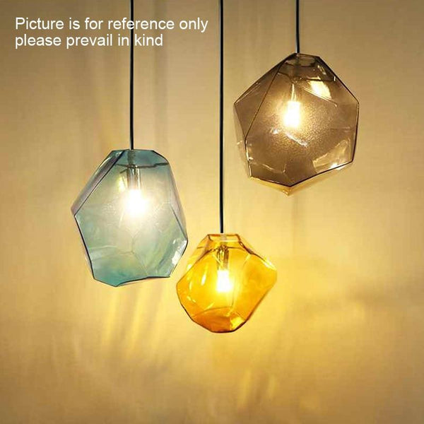 Creative Colorful Glass Pendant Lamps (Bulb Included)