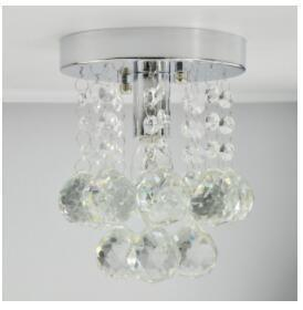 Modern Chrome/Golden Lustre LED Crystal Ball Chandelier-Decorative Chandelier-chrome / China-Khadiza Electricals