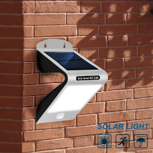 Waterproof Super Bright Solar Wall Lamp With Sensitive Motion Sensor (20 LED)