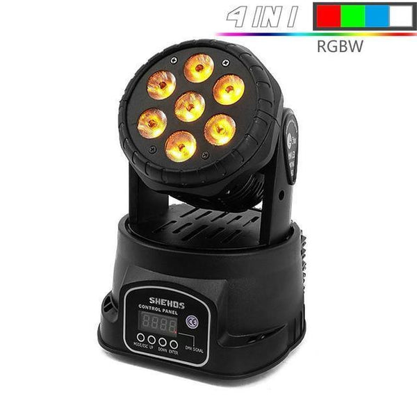 Moving Head LED Stage Light-DJ Lights & Sound-Moving head RGBW / UK Plug-Khadiza Electricals