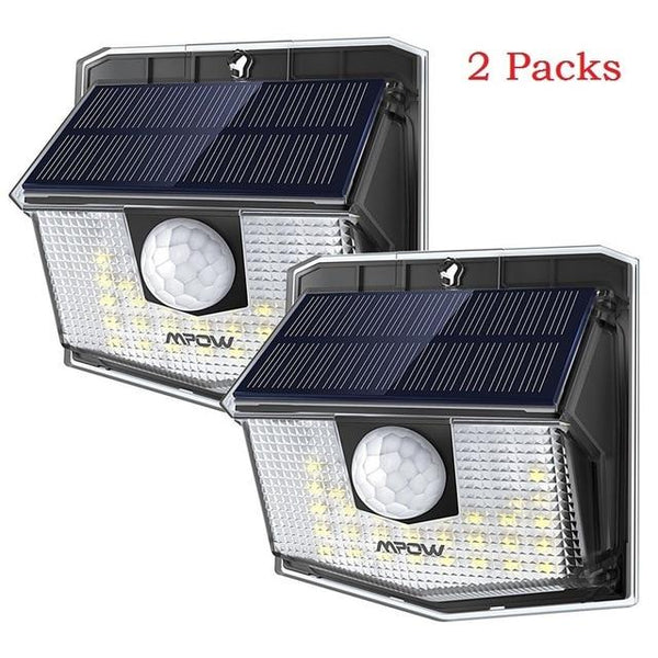 Waterproof( IP65) Solar LED Outdoor Lamp With Wide Angle Motion Sensor (30 LED)