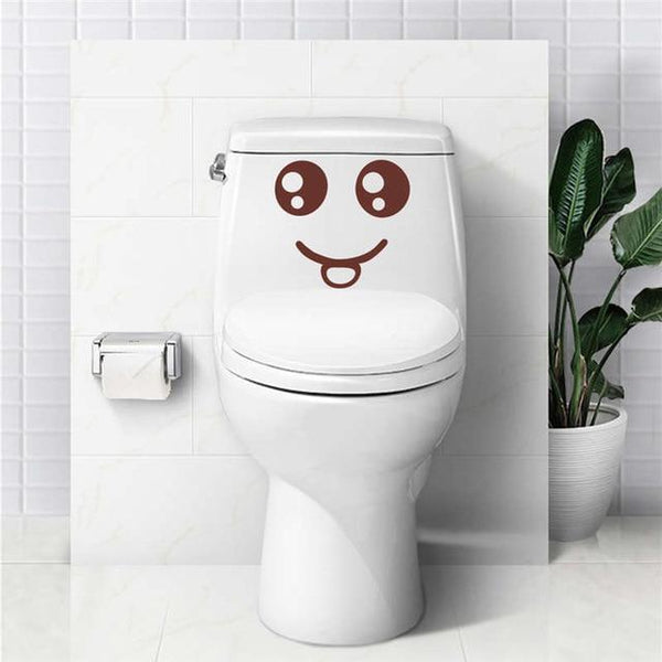 Smiling Face Wall Stickers-Non Electric Home Decor-C / China-Khadiza Electricals