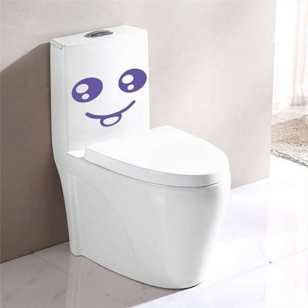 Smiling Face Wall Stickers-Non Electric Home Decor-F / China-Khadiza Electricals
