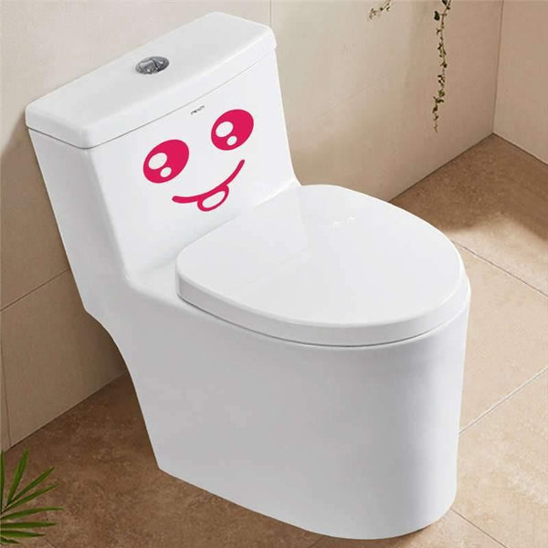Smiling Face Wall Stickers-Non Electric Home Decor-[variant_title]-Khadiza Electricals